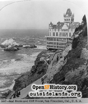 Second Cliff House and Seal Rocks...,1900c