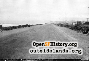 Great Highway near Sloat,1919