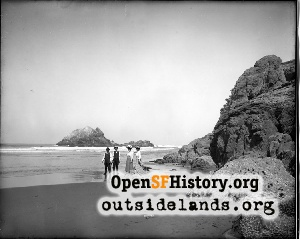 Ocean Beach & Seal Rocks,1906
