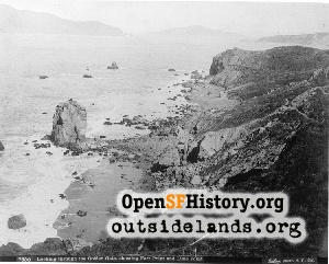 Lands End & Golden Gate,1886