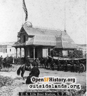 U.S. Life Saving Station,1885