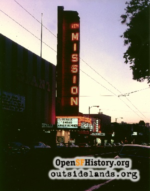 Mission near 22nd,1973