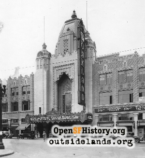 Fox Oakland Theatre,1929