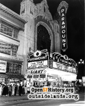 Paramount Theatre,Nov 1956