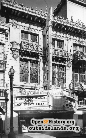 Tivoli Theatre,Nov 1941
