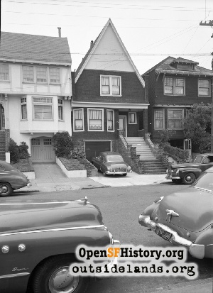 15th Ave near Geary,1951