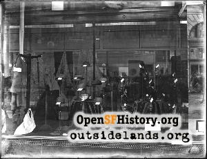 Emporium Window,Mar 1909