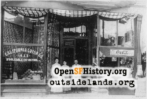 Oakland store,1907