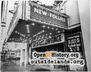 New Follies Theatre,1970s