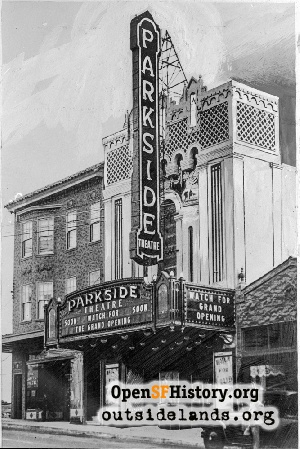 Parkside Theatre,Dec 1928