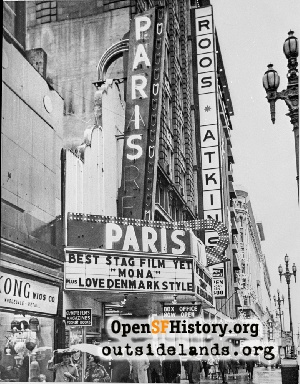 Paris Theatre,Nov 1970