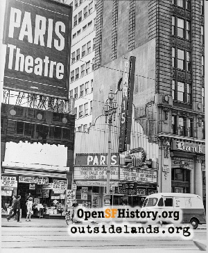 Paris Theatre,1964