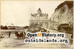 Second Cliff House,1896