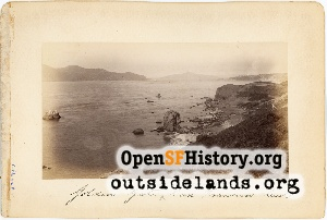 View NE from Point Lobos,1890