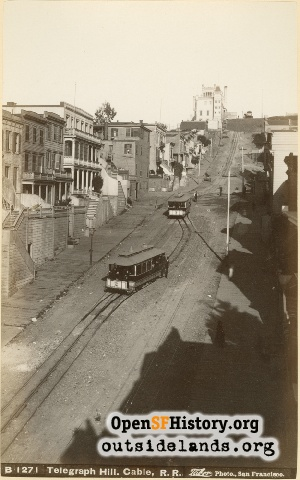 Telegraph Hill Railroad,1885
