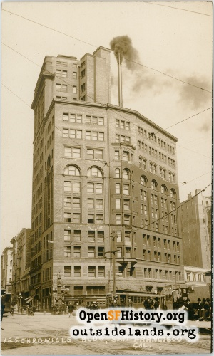 Chronicle Building,1908