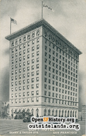 Clift Hotel,1920