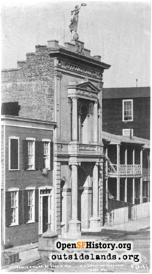 St. Francis Fire House,1856