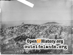 View E from Russian Hill,Jul 1891