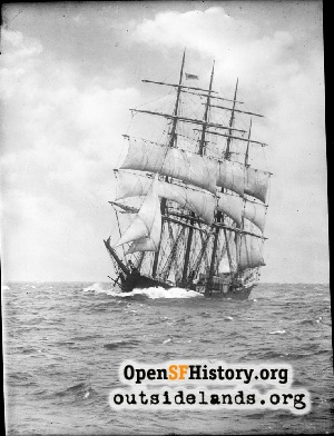Unidentified sailing ship,1900s