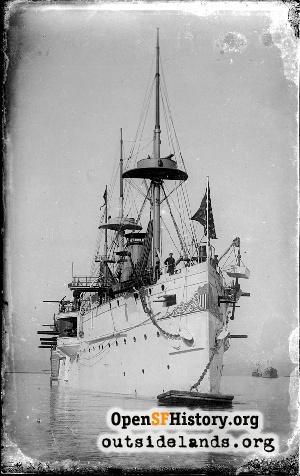 USS San Francisco,1890
