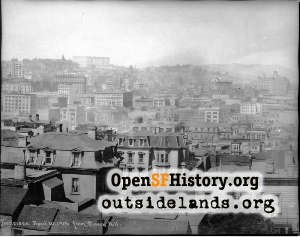 View N from Rincon Hill,1906