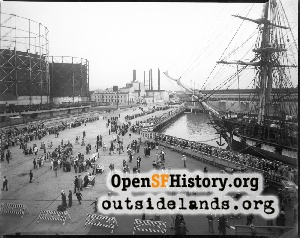 Port of Oakland,1933