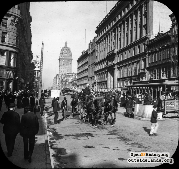 Market and Powell, circa 1904