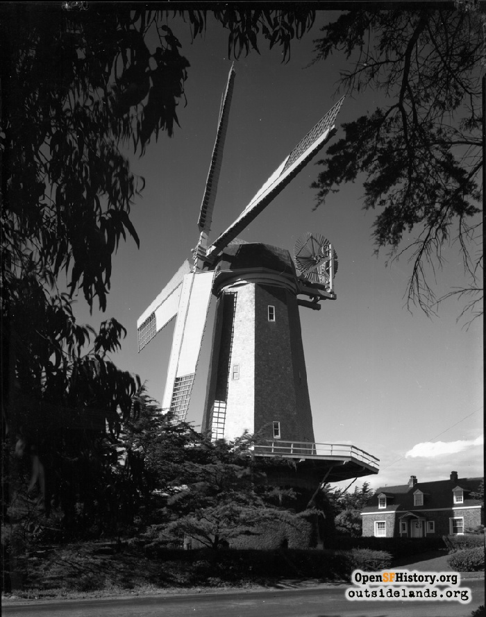 Murphy Windmill and Millwright House, 1931.