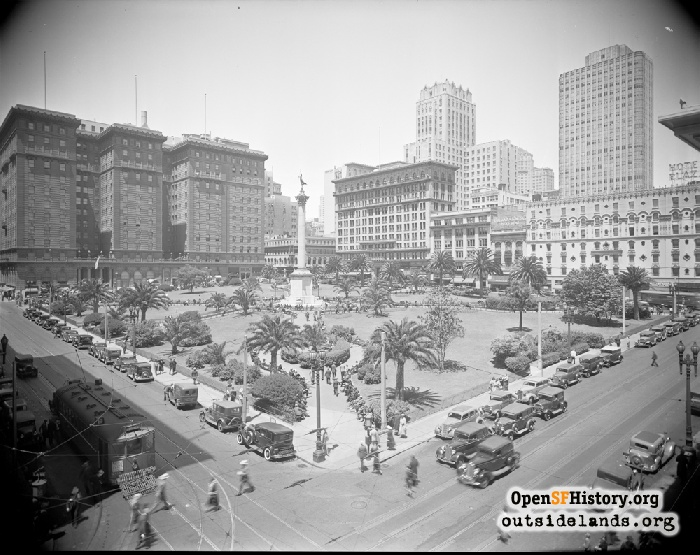 Union Square, September 5, 1935.