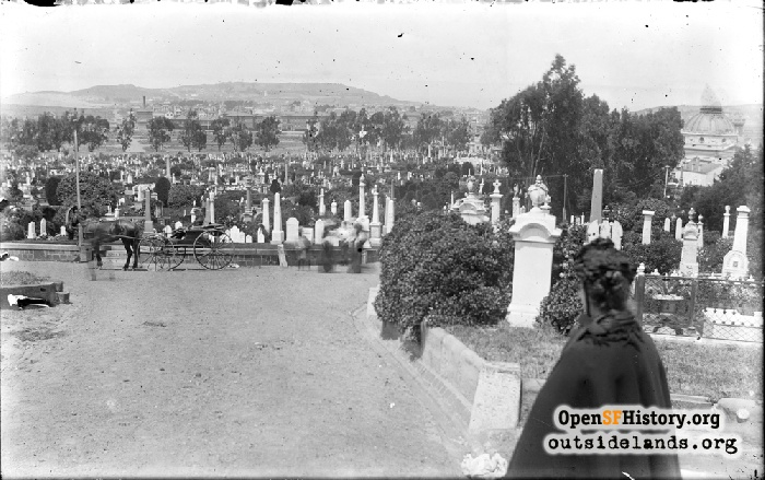 Odd Fellows Cemetery, 1900s.