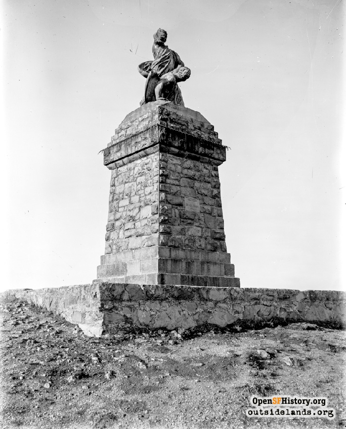 buena vista statue images - opensf history images - western