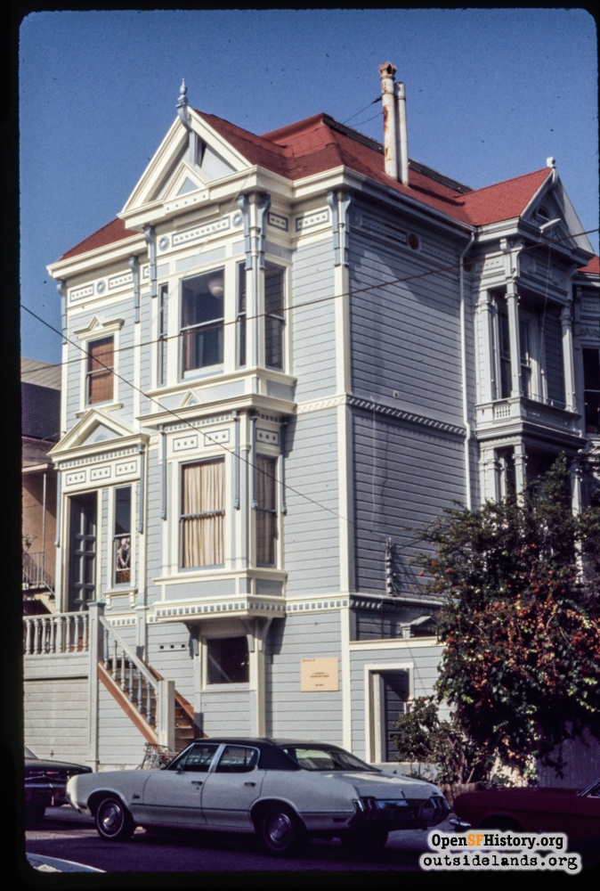 3514 21st Street after restoration, 1970s.