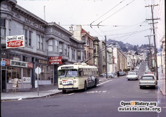 19th Street from Castro 1970.