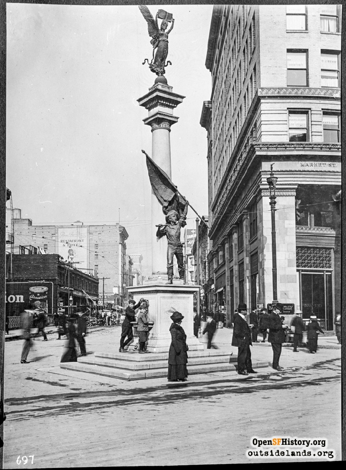 Admission Day Monument, 1912.