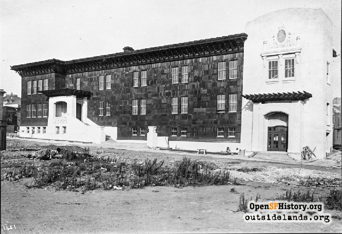 Starr King Elementary School at 25th and Utah Streets, September 7, 1913.