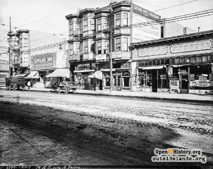 3rd Street south of Folsom, January 23, 1919.
