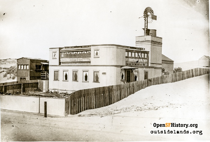 St. Andrew by the Sea church, circa 1910.