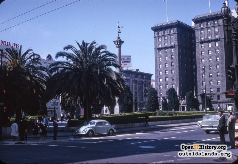 Union square opensf history images western for Western union san francisco ca