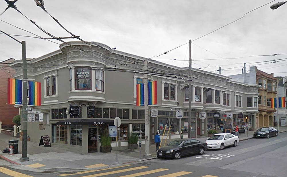 19th and Castro Streets in 2017.