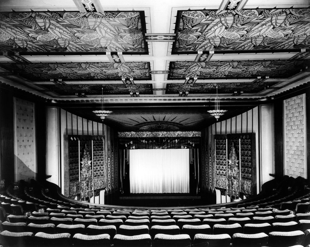 Coliseum Theatre interior remodel in 1931.